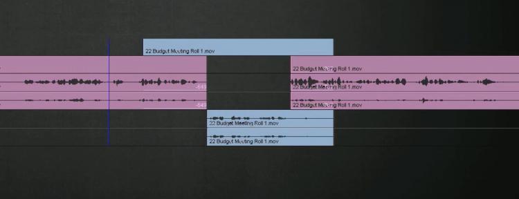 Editing Timeline