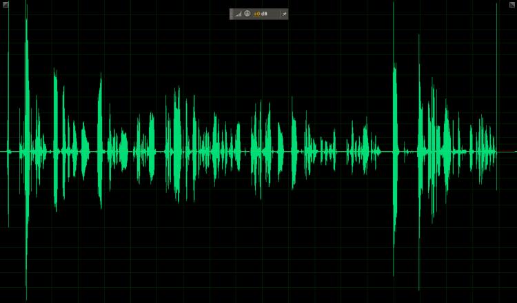 Adobe Audition Waveform