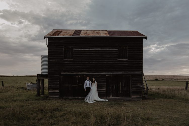 wedding video tips: Don't use Electronic music for a barn wedding