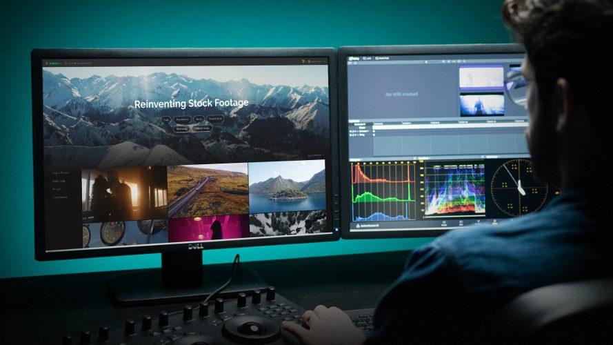 The Artgrid stock footage site