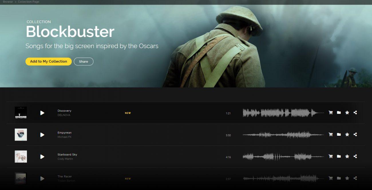royalty-free music platform Artlist