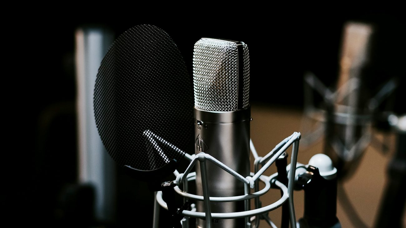 microphone is one of the first things you need when starting a podcast